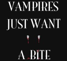 Vampires Just Want A Bite by glendellarts