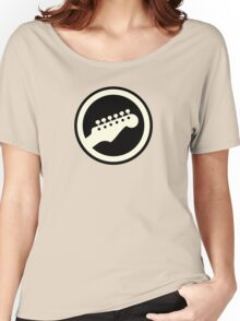 Cool Electric Guitar Sign Women's Relaxed Fit T-Shirt