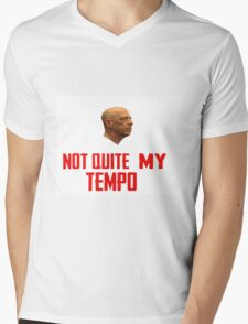 """Not Quite My Tempo"" - ""Whiplash"" T-Shirt Mens V-Neck T-Shirt"