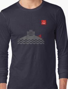 East Peak Apparel - Coast and Castle - Mountain Bike T-Shirt Long Sleeve T-Shirt