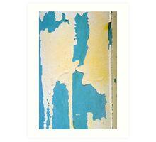 Peeling Paint 3 Art Print