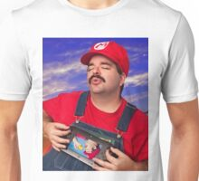 SexyMario - Playing the WiiU Unisex T-Shirt