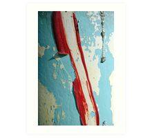 Peeling Paint 4 Art Print