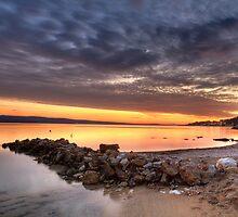 On the beach by Lidija Lolic