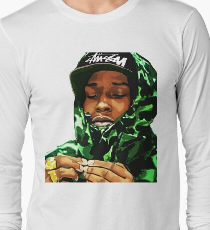 ASAP ROCKY CAMO Long Sleeve T-Shirt