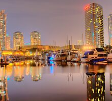 A San Diego Evening by Andy Brooks