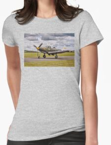 "Bell P-39Q Airacobra 42-19993 G-CEJU ""Brooklyn Bum - 2nd"" Womens Fitted T-Shirt"
