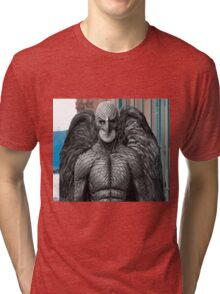 "Black & White ""Birdman"" T-Shirt Tri-blend T-Shirt"