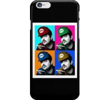 SexyMario - Warhol Homage iPhone Case/Skin