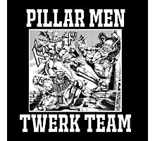 Pillar Men Twerk Team Photographic Print