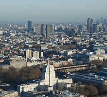 London from BT Tower I by briandhay