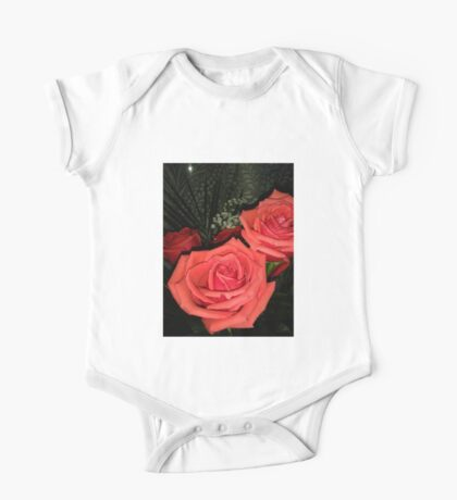 Roses 3 One Piece - Short Sleeve