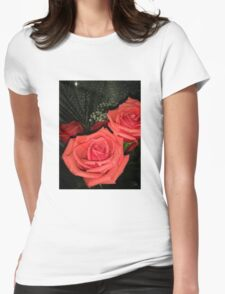 Roses 3 Womens Fitted T-Shirt