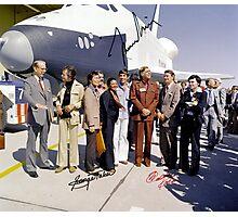 Leonard Nimoy - Mr Spock Signed Photo - Star Trek Crew autograph Photographic Print