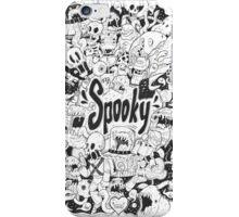 Spooky Doodleart iPhone Case/Skin