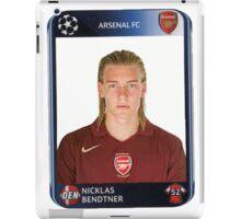 Nicklas Bendtner iPad Case/Skin