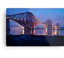 Reflections Before Sunrise: The Forth Railway Bridge  Metal Print