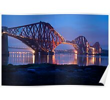 Reflections Before Sunrise: The Forth Railway Bridge  Poster