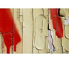 Peeling Paint 13 Photographic Print