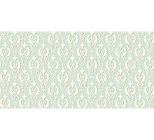 Vintage wallpaper. Delicate veil-like pattern. Photographic Print