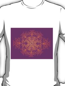 Abstract colorful floral ornament T-Shirt