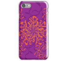 Abstract colorful floral ornament 3 iPhone Case/Skin