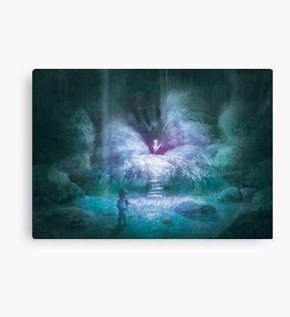 Cerulean Secret (20 Left!) Canvas Print