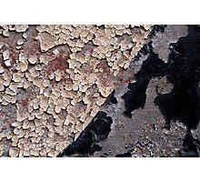 Peeling Paint 16 Photographic Print