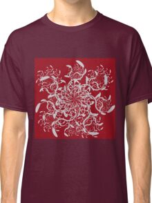 Abstract colorful floral ornament 5 Classic T-Shirt