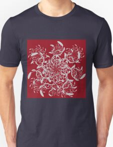 Abstract colorful floral ornament 5 T-Shirt