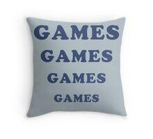 Adventureland - Games Throw Pillow