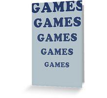 Adventureland - Games Greeting Card