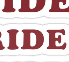 Adventureland - Rides Sticker