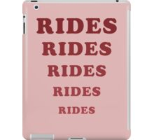 Adventureland - Rides iPad Case/Skin