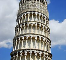The leaning tower of Pisa by Of Land & Ocean - Samantha Goode