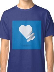 Paper heart with ribbon Classic T-Shirt
