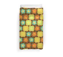 Random hibiscus pattern Duvet Cover