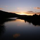 Swan Park Sunset Bellerena Co. Derry  Ireland  by mikequigley