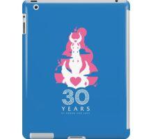30 Years of Honor and Love iPad Case/Skin