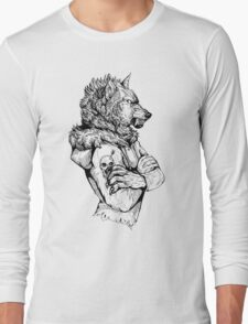 Wolf Rising Inks Long Sleeve T-Shirt