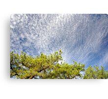 Pop Corn Sky Canvas Print