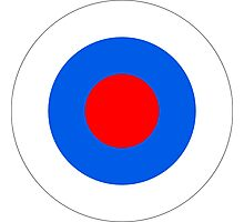 Roundel of the Slovenian Air Force Photographic Print