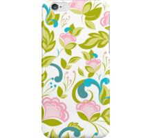 Elegance floral pattern. Spring mood. iPhone Case/Skin