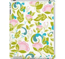 Elegance floral pattern. Spring mood. iPad Case/Skin