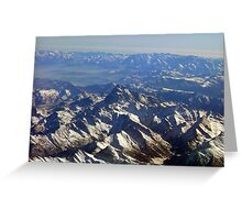 alpes 4 Greeting Card