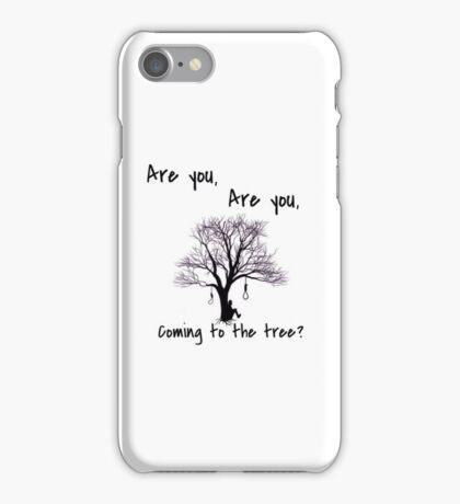 Hanging tree design iPhone Case/Skin