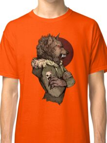 Wolf Rising Brown Classic T-Shirt