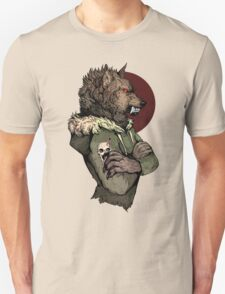 Wolf Rising Brown T-Shirt