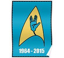 Star Trek - Vulcan Salute Badge Poster