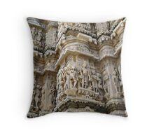 Jaan Temple, Jodhpur, India. Throw Pillow